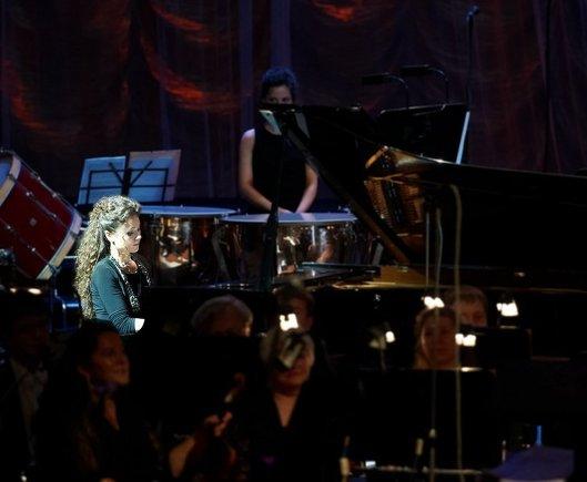 Концерт в честь российского праздника День народного единства в Киеве.