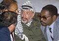 Председатель Исполкома Организации освобождения Палестины Ясир Арафат