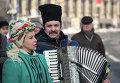 Открытие новогодне-рождественского поселка в Киеве