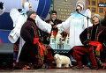 Рождественский концерт на главной улице Киева