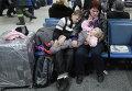 Пассажиры аэропорта. Архивное фото