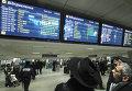 Задержка рейсов авиакомпании АэроСвит на Украине