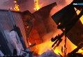 Пожар в развлекательно-оздоровительных комплексов Житомира