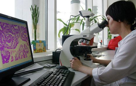 Часть студентов работала в качестве лаборантов кафедры