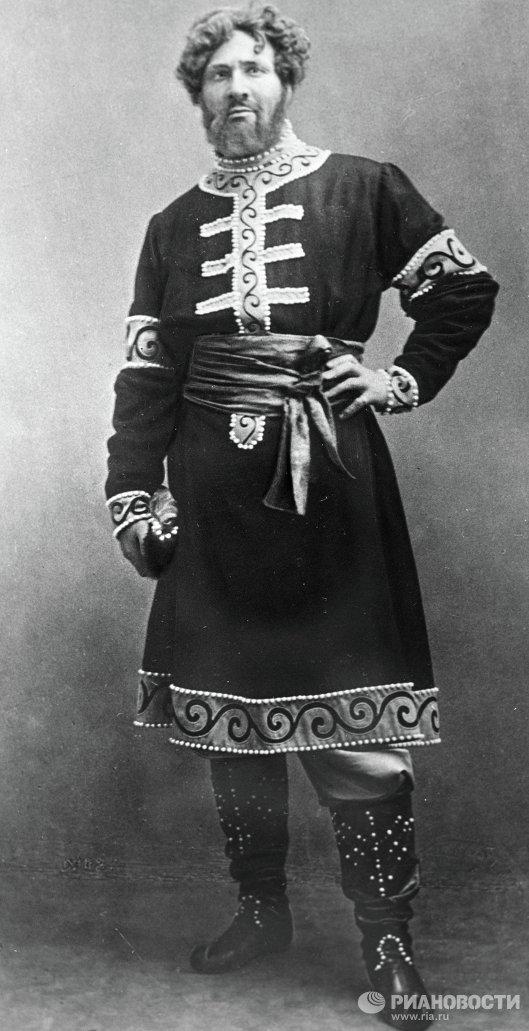 Федор Шаляпин в роли князя Галицкого
