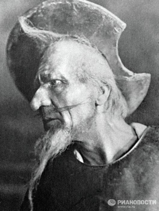 Певец Федор Шаляпин