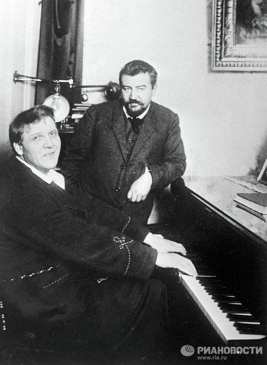 Александр Куприн и Федор Шаляпин