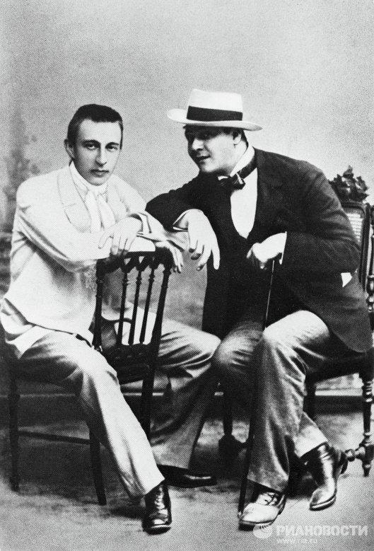 Сергей Рахманинов и Федор Шаляпин