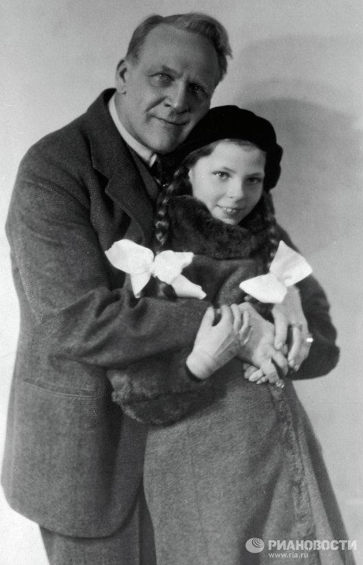 Шаляпин с дочерью