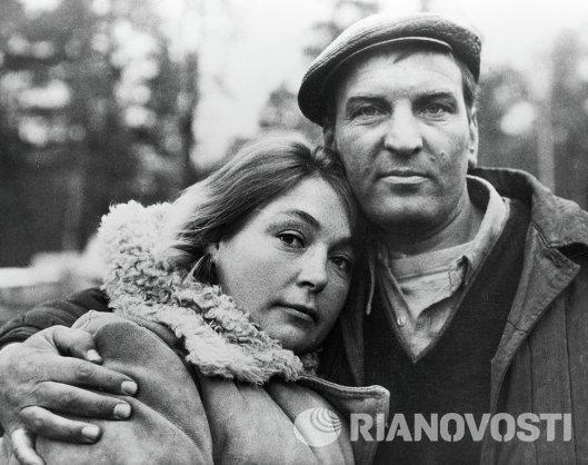 Алексей Петренко и Лидия Николаевна Федосеева-Шукшина