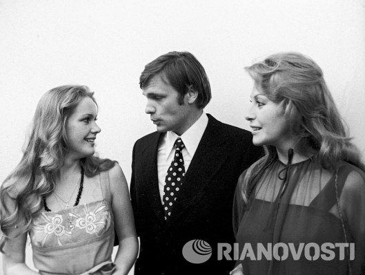 Елена Проклова, Олег Видов и Фанни Кано