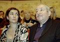 Скульптор Эрнст Неизвестный с женой