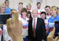 Владимир Путин встретился с призерами Универсиады