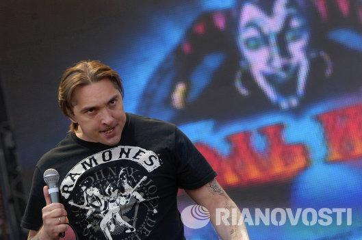 Лидер группы Король и шут Михаил Горшенев