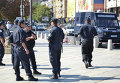 Сотрудники болгарской полиции