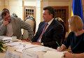 Захар Виноградов, Виктор Янукович - заседание Клуба главных редакторов стран СНГ, Балтии и Грузии
