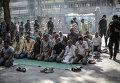 Ситуация у мечети Аль-Фатх, где укрылись сторонники Братьев-мусульман