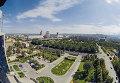 Вид на город Алма-Аты