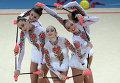 Художественная гимнастика. Сборная Украины. Архивное фото