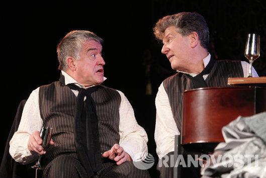 Премьера спектакля Директор театра в постановке Дмитрия Бертмана