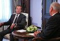 Д.Медведев и М.Мясникович
