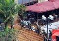 Военные у торгового центра в Найроби, 24 сентября