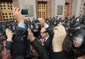 Беспорядки у здания Киевсовета