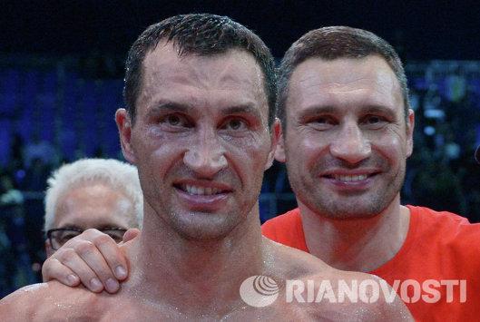 Владимир Кличко и Виталий Кличко