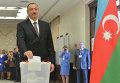 Президент Азербайджана Ильхам Алиев, архивное фото