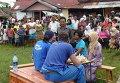 Последствия землетрясения на острове Суматра в Индонезии. Архивное фото