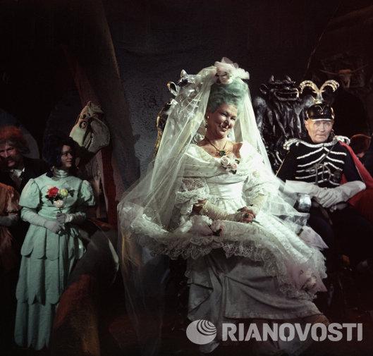 Вера Алтайская, Георгий Милляр