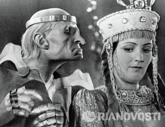 Григорий Милляр и Галина Григорьева в фильме Кащей Бессмертный