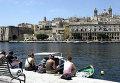 Город Витториозо на Мальте, архивное фото