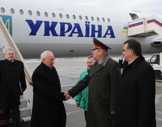 Визит Николая Азарова в Москву