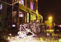 Двойной взрыв у ресторана в Махачкале
