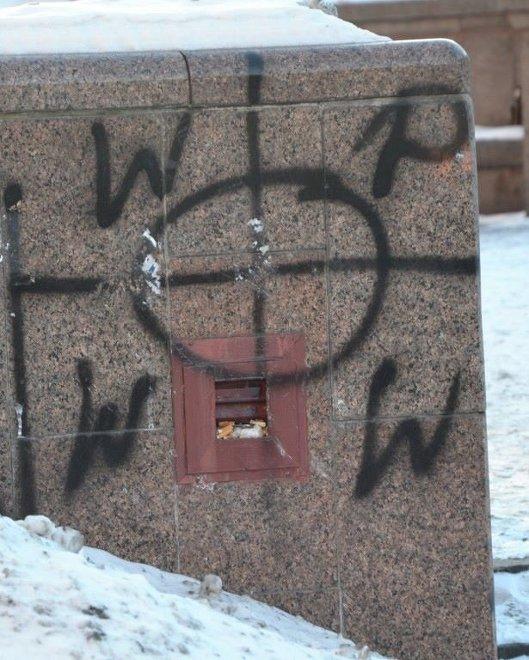Сва��ика и кел���кие к�е��� на quotЕв�омайданеquot РИА Ново��и
