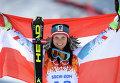 Олимпиада 2014. Горнолыжный спорт. Анна Феннингер (Австрия)