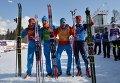 Олимпиада 2014. Лыжные гонки. Мужчины. Эстафета