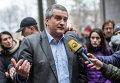 Новый глава Совета министров Крыма, лидер партии Русское единство Сергей Аксенов