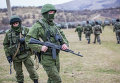 Военнослужащие РФ недалеко от Симферополя