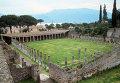 Руины древне-римского города Помпеи