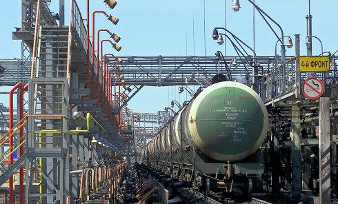 Нефтяной терминал. Архивное фото