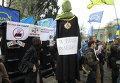 Митинги под зданием Верховной Рады