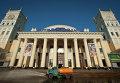 Здание железнодорожного вокзала в Харькове. Архивное фото