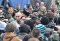 Потасовка во время Вече на Майдане Независимости