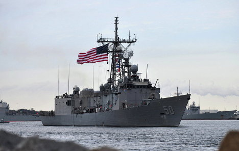 Фрегат Taylor ВМС США