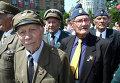 Бывшие воины ОУН-УПА во Львове