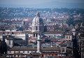 Вид города Рима.