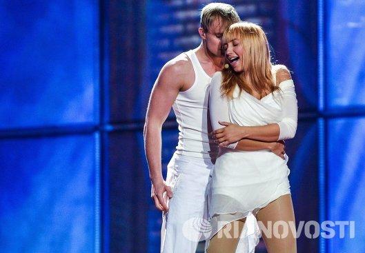 Представительница Эстонии певица Таня