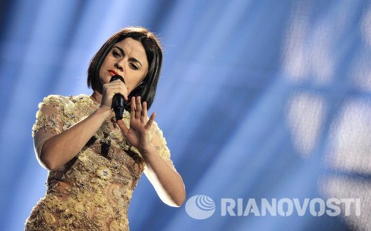 Представительница Албании певица Херси